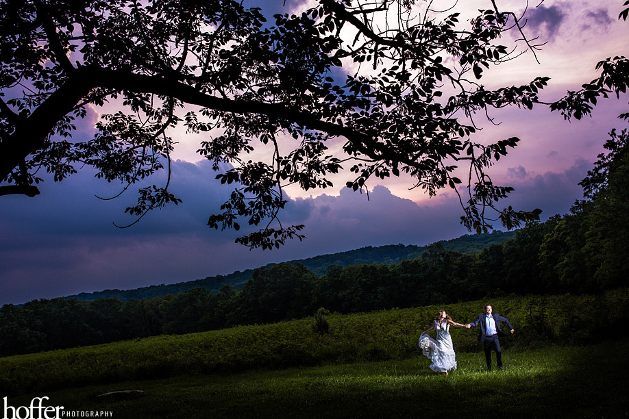Peace valley park wedding