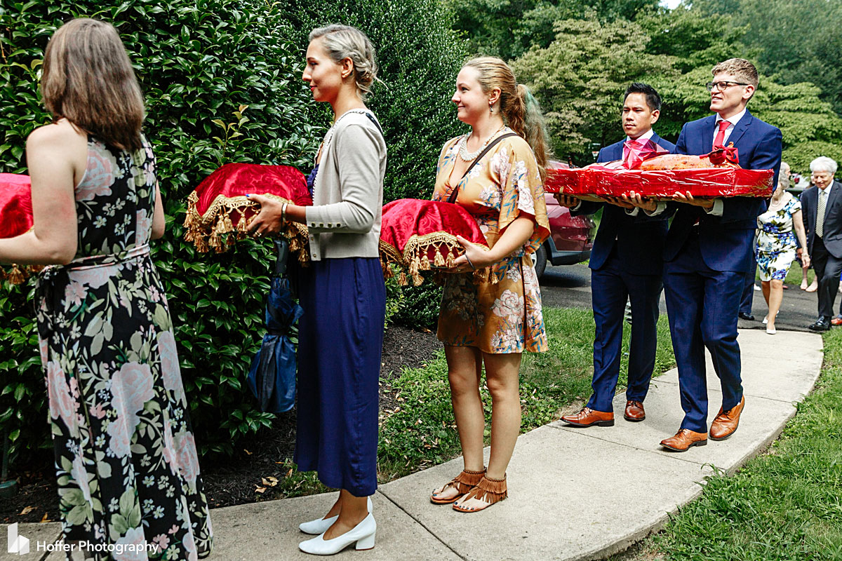 Thu & Michael at Merion Cricket Club   Hoffer Photography